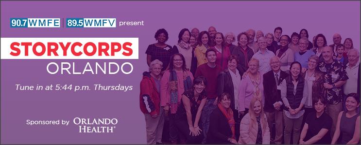 StoryCorps Orlando podcast_page header