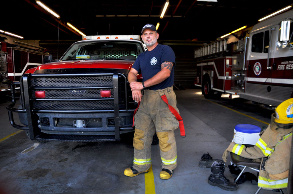 Joe Donadio is now a firefighter at Brevard County Fire Rescue. WMFE TSA Suicide Investigation